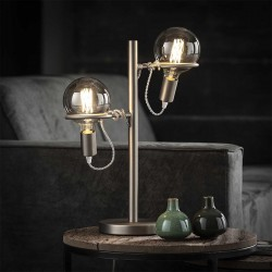 Lampe 2 anneaux 'TYANA'
