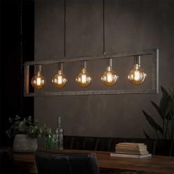 Suspension 5 lampes TITAN