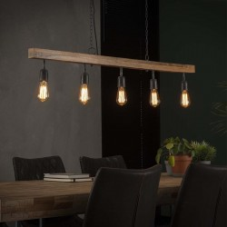 Suspension 5 lampes OANA