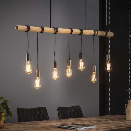 Suspension 7 lampes ODDIN