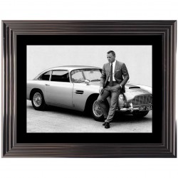 Tableau moderne James Bond D.Craig 74x94 cm