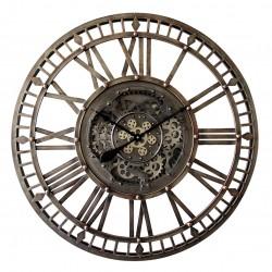 Objet déco Horloge à engrenages D.90 cm