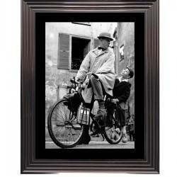 Tableau moderne Jacques Tati 94x74 cm
