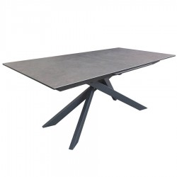Table rectangle extensible ANNA 1 allonge