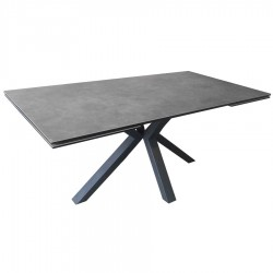 Table rectangle extensible ARIEL 2 allonges