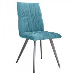 Chaise ZOE bleu azur
