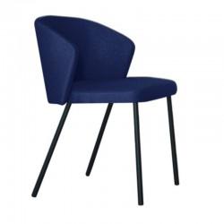 "Chaise ""MAEVA"" bleue"