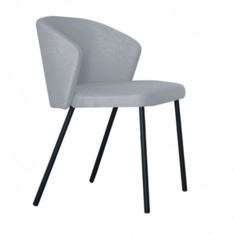 "Chaise ""MAEVA"" grise"