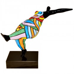 Sculpture danseuse DORIANE H.38 cm