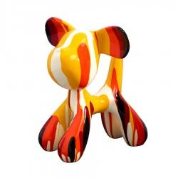 "Sculpture chien MEDOR"" H.29 cm"""