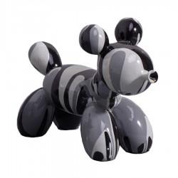 Sculpture chien MONK H.12 cm