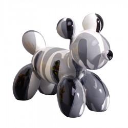 """Sculpture chien MONK"""" H.12 cm"""""""