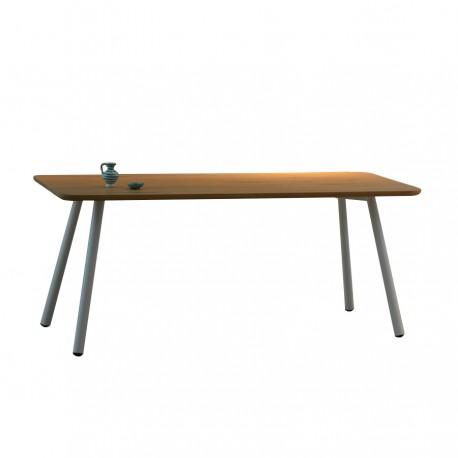 """Table """"TAL"""" plateau plaqué chêne"""