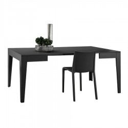 "Table de repas extensible ""CALI"" anthracite"