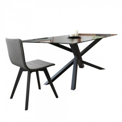 "Table de repas ""TEAM"" anthracite"