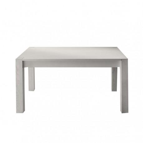 Table avec rallonges « CASSINO » blanche