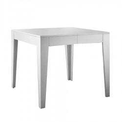 "Table de repas extensible ""CALI"" blanche"
