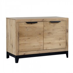 Buffet bas 2 portes « FACTORY » largeur 120 cm