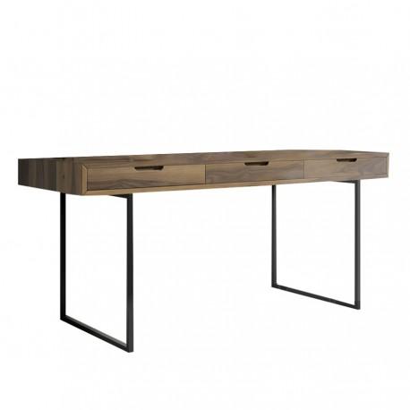 Bureau 3 tiroirs HUGO L.150 cm
