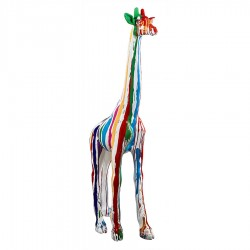 Sculpture girafe JEANY H.198 cm