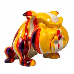 Sculpture bulldog HARRY H. 27 cm