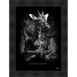 Tableau moderne Sylvain BINET Fashion Jungle 63x83 cm