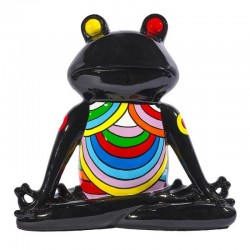 Sculpture grenouille YOGA H. 40 cm