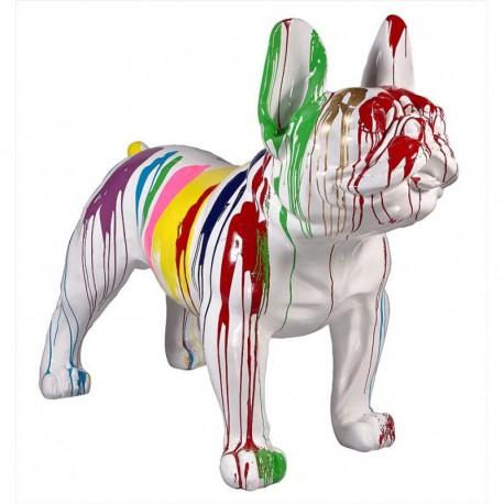 Sculpture bulldog OLEG H. 140 cm