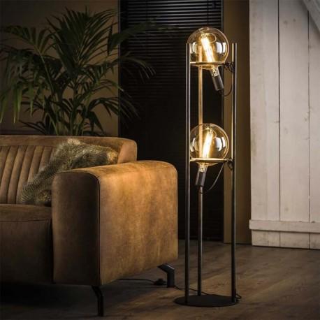 Lampadaire 2 lampes 'TENZA'