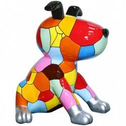 Sculpture chien 'ZANZIBAR' H.100 cm