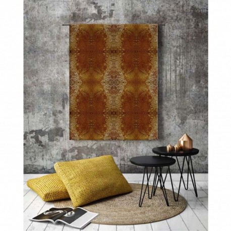 Tenture murale design en coton 145x190cm Honey