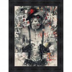 Tableau moderne Sylvain BINET Urban Monkey 63x83 cm