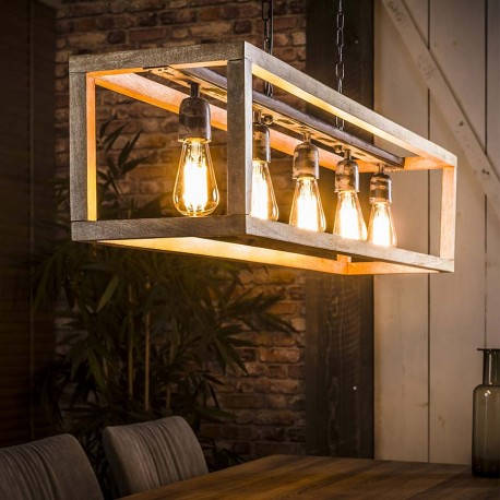 Suspension 5 lampes NEDY