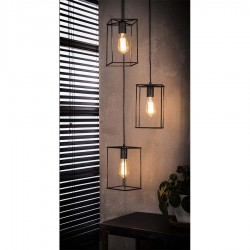 Suspension 3 lampes AMARNA