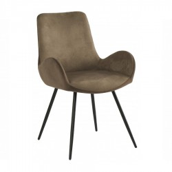 Fauteuil ANGIE taupe