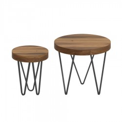 Lot de 2 tables basses MARGARITA