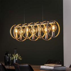 Suspension 7 lampes DIABLO