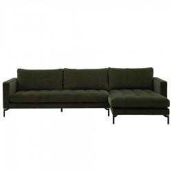 Canapé d'angle droit LUIZA 296 cm