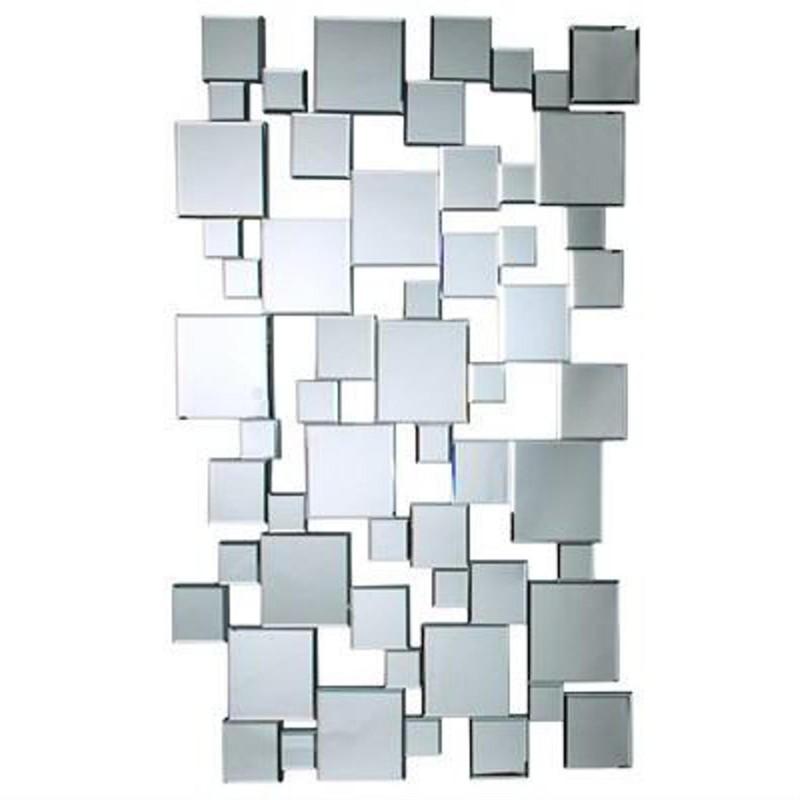 miroir moderne mural en carr s 85x140 cm toutendirect. Black Bedroom Furniture Sets. Home Design Ideas