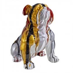 Objet déco statue bulldog JESSY H.47 cm