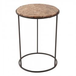 Table basse COSTANCE Ø43 cm