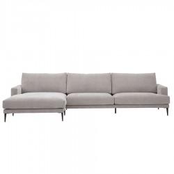 Canapé d'angle gauche TALIA 344 cm