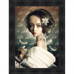 Tableau moderne Sylvain BINET Je suis coco 63x83 cm
