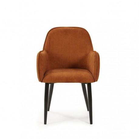 Lot de 2 fauteuils NAVARRE orange