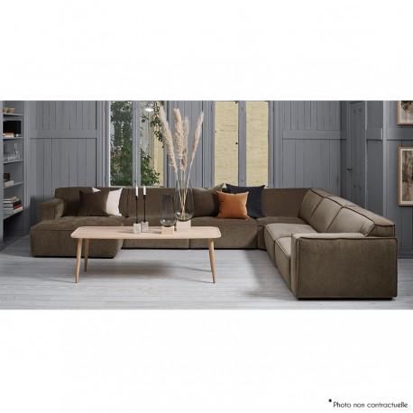 Canapé d'angle avec chaise longue HEX