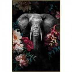 Tableau moderne ELEPHANT 82x122 cm