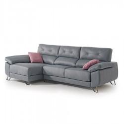 Canapé d'angle WAYNE assise coulissante (282 cm)