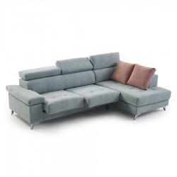 Canapé d'angle ETHAN assise coulissante (286 cm)