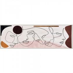 Tableau moderne PABLO 52,5x152,5 cm