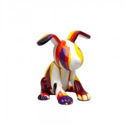 Objet déco statue chien HENRY H.11 cm
